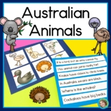 Australian Animals Literacy Center: reading, writing & printables