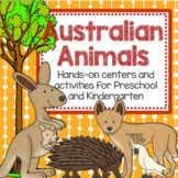 Australian Animals Theme Unit: Hands-On Learning Activities