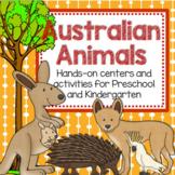Australian Animals Theme Unit: Hands-On Learning Activities