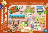 Australian Animals Themed Classroom Decor Pack