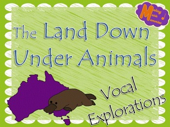 Australian Animals Vocal Explorations