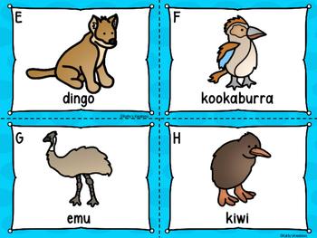 Australian Animals Write The Room