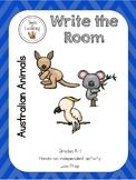 Australian Animals {Write the Room}