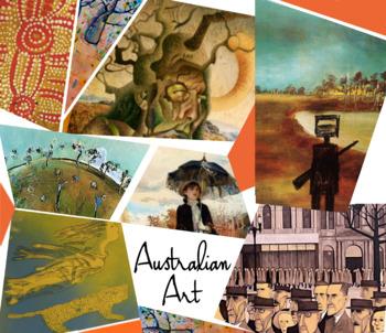 Australian Art History - Australia - Down Under - Art - FREE POSTER