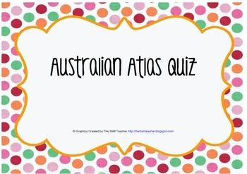 Australian Atlas Quiz