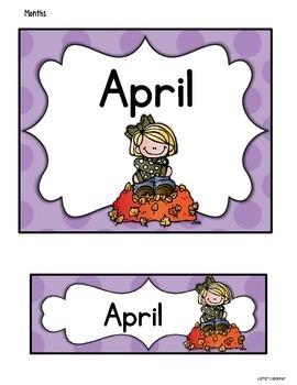 Australian Calendar Month Freebie