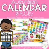 Australian Calendar Pack - New South Wales Fonts