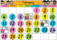 Australian Calendar Pack - Tasmanian Fonts