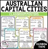 Australian Capital Cities Poster Set - Classroom Display