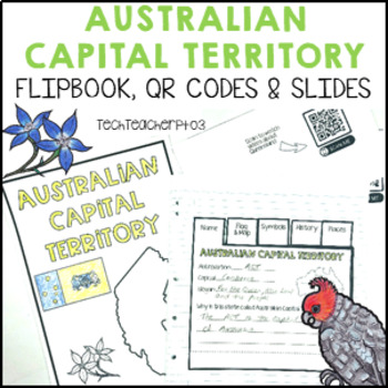 Australian Capital Territory Interactive Notebook and Slides