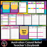Australia Casual Relief Teacher Planner Editable