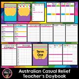 Australian Casual Relief Teacher's Planner EDITABLE