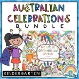 Australian Celebrations BUNDLE - Kindergarten, Prep, Foundation