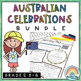 Australian Celebrations BUNDLE - Years 5 - 6
