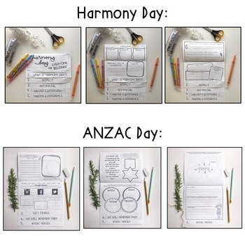 Australian Celebrations FLIPBOOK BUNDLE