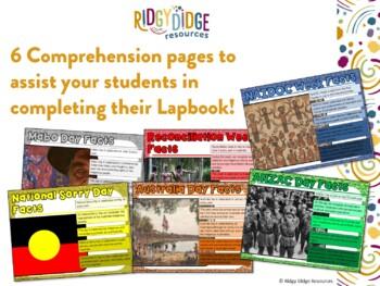 Australian Celebrations Lapbook Activities