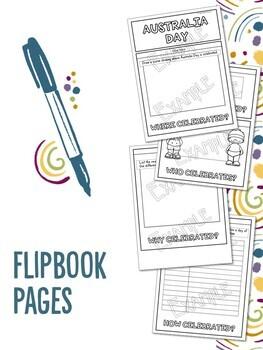 Australian Celebrations Flipbooks