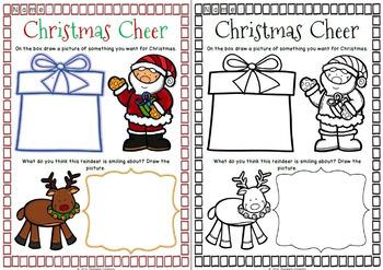 Christmas Activity Sheets for Australian Teachers