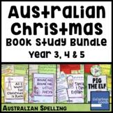 Australian Christmas Book Study Bundle (Year 3, 4, 5)