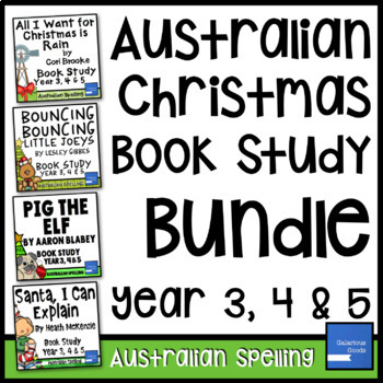 Australian Christmas Picture Book Study Bundle (Year 3, 4, 5)