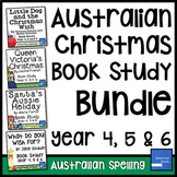Australian Christmas Book Study Bundle (Year 4, 5, 6)