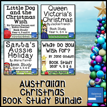 Australian Christmas Book Study Bundle (Year 4, 5, 6)