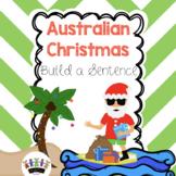 Australian Christmas Build a Sentence