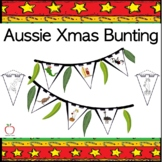 Australian Christmas Bunting Decoration