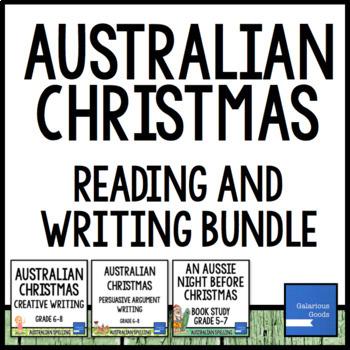 Australian Christmas Reading and Writing Bundle