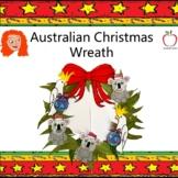 Australian Christmas Wreath