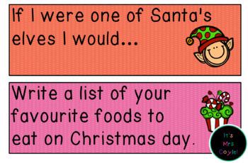 Australian Christmas Writing Prompts