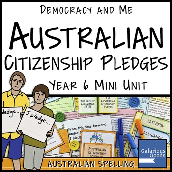 Australian Citizenship Pledges (Year 6 HASS)