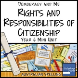 Australian Citizenship Rights and Responsibilities (Year 6 HASS)