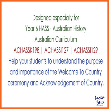 Australian Civics - Welcome to Country and Acknowledgement of Country