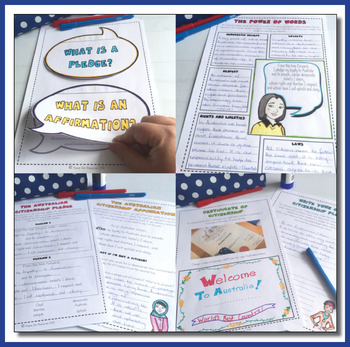 Australian Civics and Citizenship - The Citizenship Pledge and Affirmation