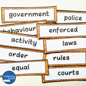Australian Civics and Citizenship YEAR 4 HASS COMPLETE BUNDLE