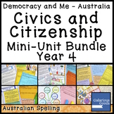 Australian Civics and Citizenship YEAR 4 HASS MINI UNIT BUNDLE