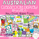 Australian Classroom Display Bundle - New South Wales Fonts