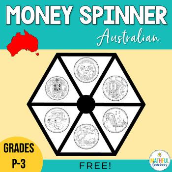 Australian Coin Spinners Freebie