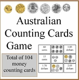 Australian counting card money game