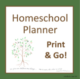 Australian Comprehensive Homeschool & Distance Learning Planner