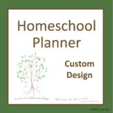 Australian Comprehensive Homeschool Planner - Build Your O