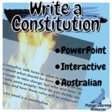 Australian Constitution Year 7 Civics and Citizenship Powe