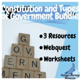 Australian Constitution and Types of Government Bundle Yea