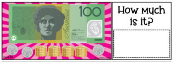 """Australian Currency """"How Much Is It"""" Activity - 64 Card Combos + Answer Key"""