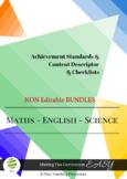 Australian Curriculum  Planning Tool & Checklists BUNDLE - Year 1