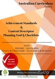Australian Curriculum HASS - Planning Tool & Checklists BUNDLE - Year 6