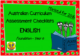Australian Curriculum Assessment Check-lists English - F-7