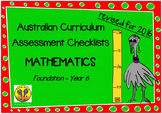 Australian Curriculum Assessment Check-lists Maths F -7  2