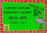 Australian Curriculum Assessment Check-lists Visual Arts F